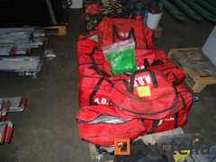 +/-13 suitcases and 8 bags ADR Kit