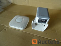 1 Honeywell chime, 1 carbon monoxide detector