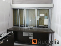 1 Secure window with armored windows
