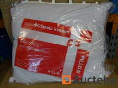 10 SWISS Classic anti-allergic washable pillows 70 x 60