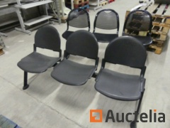 2 r waiting room benches 3-seate, 2-seater waiting room benches with integrated shelf