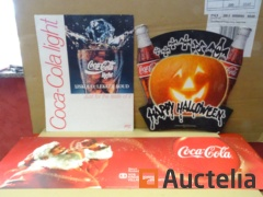 3 Coca-Cola advertising Posters