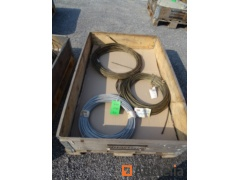 3 Coils of steel cables