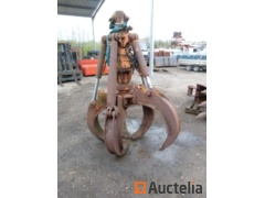 5-tooth grapple for crane