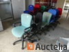 6 Chairs on wheels