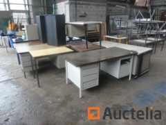 6 Office tables various