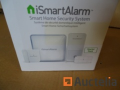 Are ismartalarm ISA1G Starter Pack connected Home security system