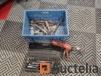 Box of sockets with ratchet wrench + Lot of keys of all kinds + HILTI
