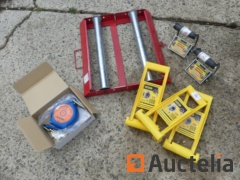 Cable reel, manual panel doors, harness part