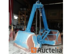 Cabled grapple for crane - 2,6 m3