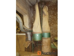 Chip Chip extractor unit 2 bags on windows frames