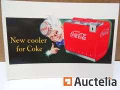 Coca-Cola New glue for Coke collection card