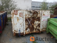 Container 11 m² Open