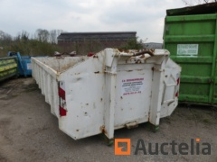 Container 15 m² Open