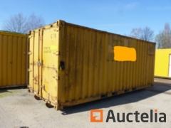 Container closed 38 m³ to be reconditioned