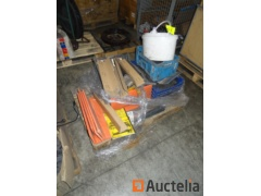Contents of the 7 pallets
