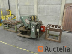 DOALL CJ-260A2 mechanical saw for vertical metals