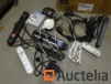 Electrical cables various, plug jacks, REMOTE control socket