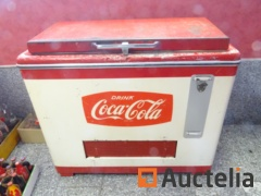 Freezer Bahut Coca-Cola Year 50