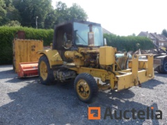 FWD B2-1171 Agricultural tractor  (1968-201 h) with Tortella PT15 Spindle Crusher (2006)