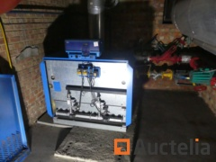 Gas boiler with complete installation BUDERUS Logano G334