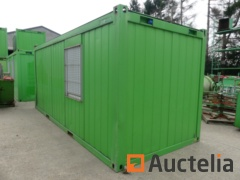 Insulated office container 20 ft - Ref 62124