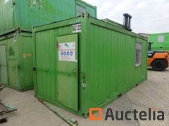 Insulated office container 20ft -Ref 62122