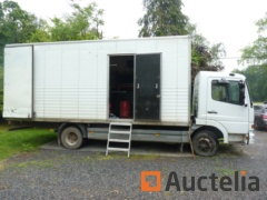 Intervention Truck Mercedes Atego for Hydraulic troubleshooting (2001 - 295.000 km)