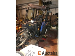 ISEKI TLE3400 Agricultural tractor  with cabin EMS - rugged (2018)