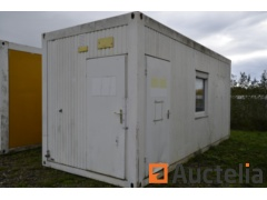 Isolated Office Container, isolated KeKu Raumsysteme