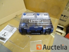 Kit Drill and accessories pro. Scheppach DTB-20ProS Li-Ion Battery 20