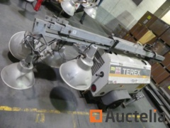 Lighting tower with jib crane 4 spots TEREX RL4000 (2013 / 7512 h) - Matis: LT220