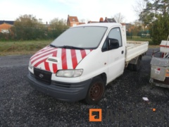(Matis: 222) - Hyundai Pickup truck with tipper  for parts  (180602 km)
