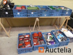 Mechanical consumables, various parts, electric hand tools,...