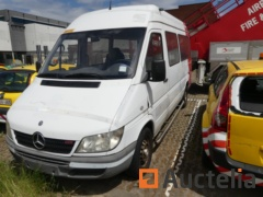 MERCEDES SPRINTER van, equipped with lift for PRM - NO DOCUMENT