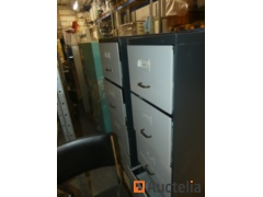 Metal cabinets for hanging files with 4 drawers