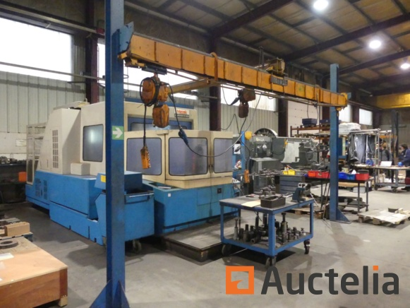Numerically controlled machine tools