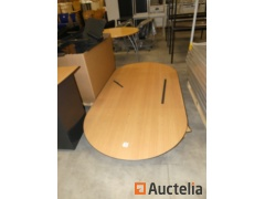 Office table, meeting table and wardrobe