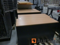 Office tables, cabinets, drawer units and tabels