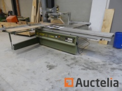 Panel saw (horizontal) with Incizer and tilting blade