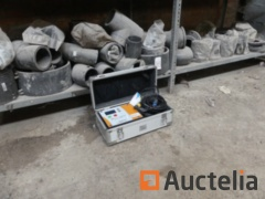 PE welder Akatherm CB315-U, fittings PE