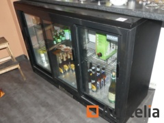 Polar CC605-5 glass countertop Refrigeration cabinet