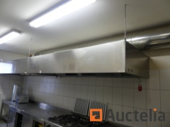 Risto Contract chip extractor unit Kitchen hood