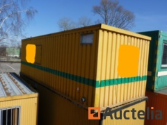 Sanitary container Ropa with kitchen