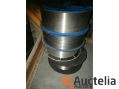 Stainless steel welding wire spools