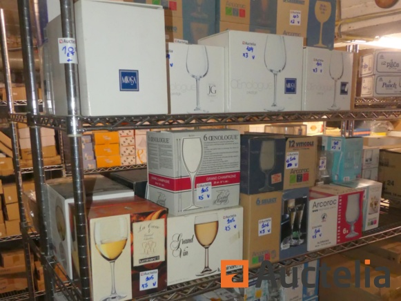 Tableware and Glasses - New