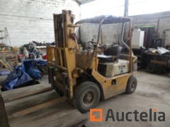 TCM FG20N6 frontal Thermal Forklift