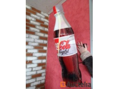 Teaches bottle Classic Coca-Cola to be fixed to the wall