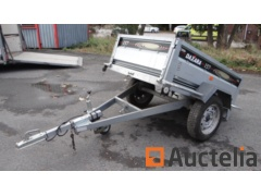Tipping trailer Single unbraked axle DAXARA 157