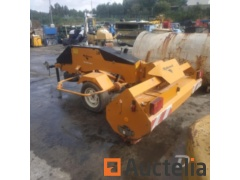 Trailed sweeper Rabaud 72057D - REF3080